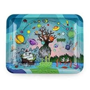 Ooze Ooze Medium Rolling Tray- Tree of Life