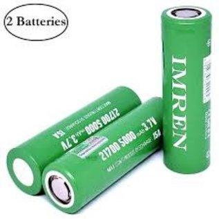 IMREN IMREN 21700 5000mAh  15Amp- Per Battery (Qty 2 include30d Case)