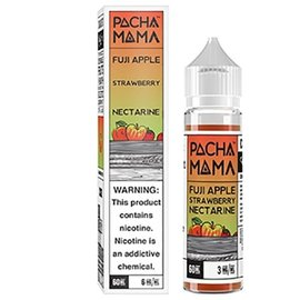 Charlie's Chalk Dust Pachamama- Fuji Apple Strawberry Nectarine  6 MG 60 ML