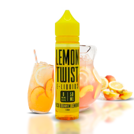 Lemon Twist Twist Yellow Peach - Peach Blossom Lemonade 6mg 60ml