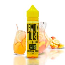 Lemon Twist Twist Yellow Peach - Peach Blossom Lemonade 3mg 60ml