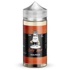 Salty Man Low Nicotine Salt E-Liquid Kool Peach 6 mg - Salty Man Low 100ML
