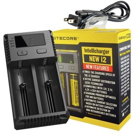 Nitecore Nitecore Vape Battery Charger Intelli I2 New Version