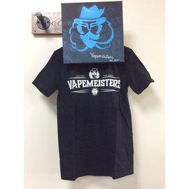 Vapemeisters T-shirt Black- Small