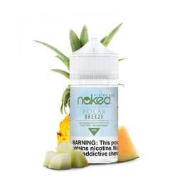 Naked100 Melon/Polar Breeze/ Frost Bite / 3MG MENTHOL 60ML Naked100 MENTHOL