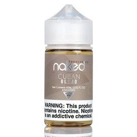 Naked100 Naked100 - TOBACCO 60ML  - Cuban Blend / 6MG