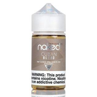 Naked100 Naked100 - TOBACCO 60ML  - Cuban Blend / 6MG