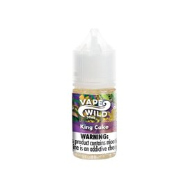 VapeWild VapeWild King Cake 0mg 30ml