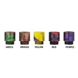 Resin Drip Tips Resin - 510 Wide Bore Size DO11