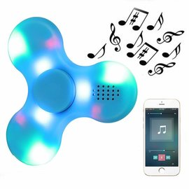 Bluetooth Speaker Bluetooth Speaker With LED Rechargeable Fidget Hand Spinner