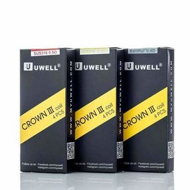 Uwell Uwell Crown III Replacement Coils -  Kanthal 0.4 Ohms - per coil