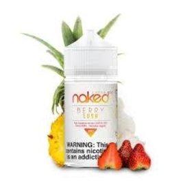 Naked100 Naked 100 Berry Lush 3mg 60ml -Strawberry Pineapple Cream
