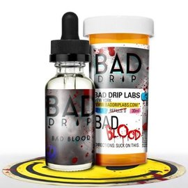 Bad salt Bad salt - Bad Blood Bad 25mg 30ml-Bad Drip