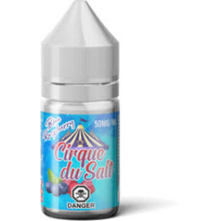 Cirque Du Salt Cirque Du Salt Nic Salt E-liquid 35mg Blue Raspberry Ice