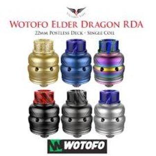Wotofo Wotofo Ryujin Elder Dragon 22mm RDA-Gunmetal