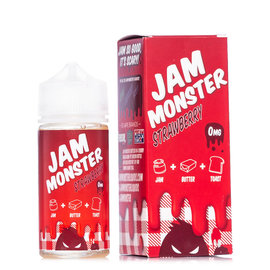 Jam Monster Jam Monster Strawberry 0mg 100ml