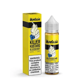 Vapetasia Vapetasia Killer Kustard Blueberry 0 MG 60 ML