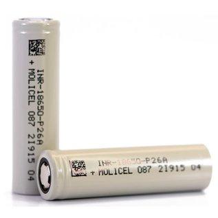 Molicel Molicel P26A 18650 2600mAh 35a - Per Battery