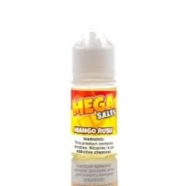 Mega Eliquid Mega Salts E Liquid Mango Rush 50mg 30ml