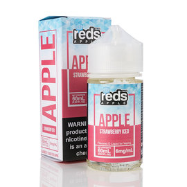 7 Daze Reds Apple Strawberry Iced 3MG