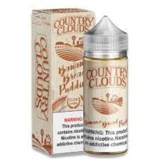 Country Clouds Country Clouds-Banana Bread Puddin 3mg/100ml