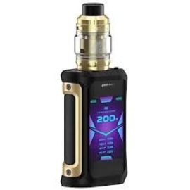 GeekVape Geekvape Aegis X 200W TC Starter Kit w/ 4ml Zeus Tank-Gold and Black