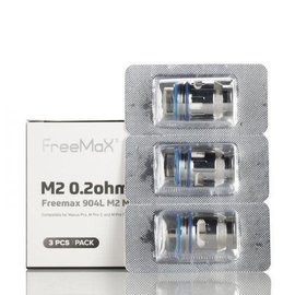 Freemax Box of 3 Freemax Maxus Pro 904L M2 Mesh Coil -  0.2 ohm