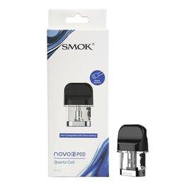 SMOK Box of 3 SMOK Novo 2 Replacement Pod- DC 1.4 Ohm Quartz