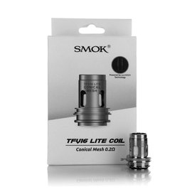 SMOK Box of 3 SMOK TFV16 Lite Replacement Coils - Conical Mesh 0.2 Ohm