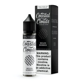 Coastal Clouds Premium Coastal Clouds - Melon Berries 3mg Premium Vapor E-Liquid 60ml