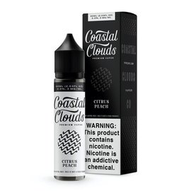 Coastal Clouds Premium Coastal Clouds Premium Vapor E-Liquid 60ml Sugared Nectarine 0mg
