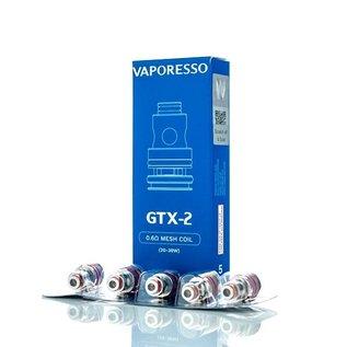 Vaporesso Box of 5 Vaporesso GTX-2 Coil - .6 Ohm Mesh