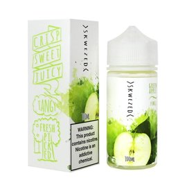 Skwezed Green Apple 0mg 100ml