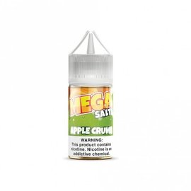 Mega Eliquid Mega Salts E Liquid Apple Crumb 50mg 30ml