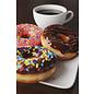 Mega Eliquid Mega Coffee and Donuts 0mg 60ml