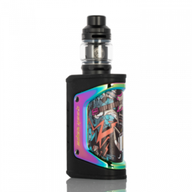 GeekVape GeekVape Aegis Legend Limited Edition 200W Box Mod Kit w/Zeus Tank- Fantasy Rainbow