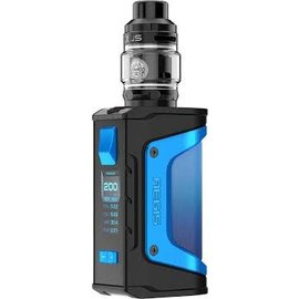GeekVape GeekVape Aegis Legend Limited Edition 200W Box Mod Kit w/Zeus Tank- Light Blue
