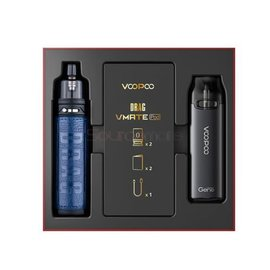 Voopoo Voopoo Drag X and VMate Starter Kit Set Galaxy Blue