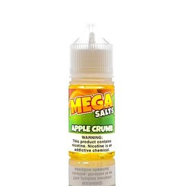 Mega Eliquid Mega Salts E Liquid Apple Crumb 30mg 30ml