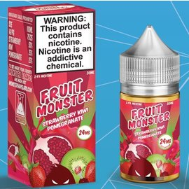 Fruit Monster Fruit Monster Salts Strawberry Kiwi Pomegranate 24mg 30ml