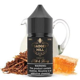 Mega Eliquid Badger Hill Milk and Honey 30mg 30ml