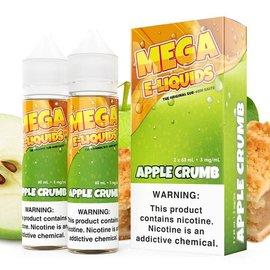 Mega Eliquid Box of 2 Mega Apple Crumb 3mg 120ml
