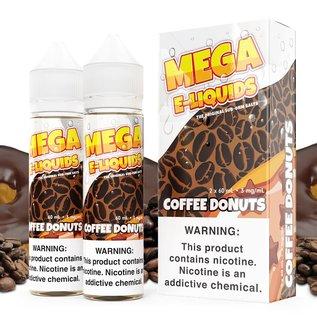 Mega Eliquid Box of 2 Mega Coffee and Donuts 3mg 120ml