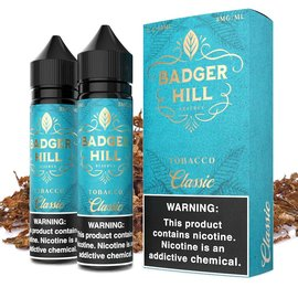 Badger Hill Box of 2 Badger Hill - Tobacco Classic 3mg 120ml