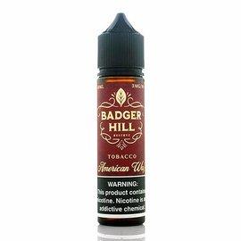 Badger Hill Badger Hill - Tobacco American Way 6mg 60ml Single