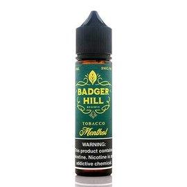 Badger Hill Badger Hill - Tobacco Menthol 0mg 60ml Single