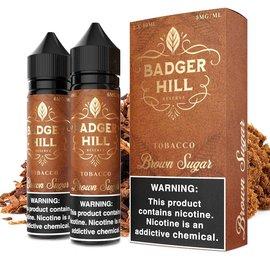 Badger Hill Box of 2 Badger Hill - Tobacco Brown Sugar 6mg 120ml