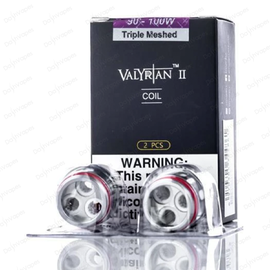 Uwell Box of 2 Uwell Valyrian 2 Replacement Coils Triple Mesh 0.16