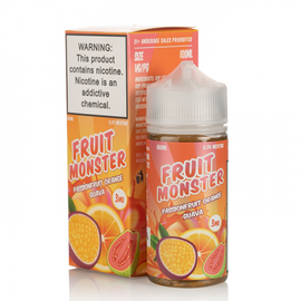 Fruit Monster Fruit Monster Passionfruit Orange Guava 3mg 100ml