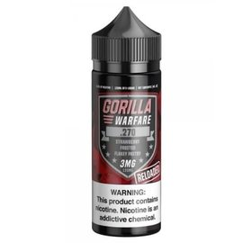 Gorilla Warfare Gorilla Warfare .270 Reloaded - Strawberry Frosted Flakey Pastry 3mg 120ml